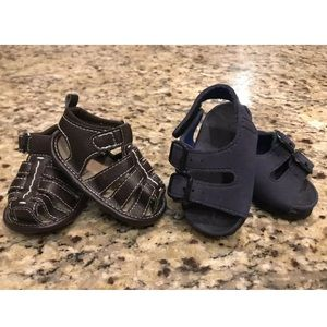 Other - ☀️ Lot of 2 Infant Baby Boys 0-6 Months Sandals